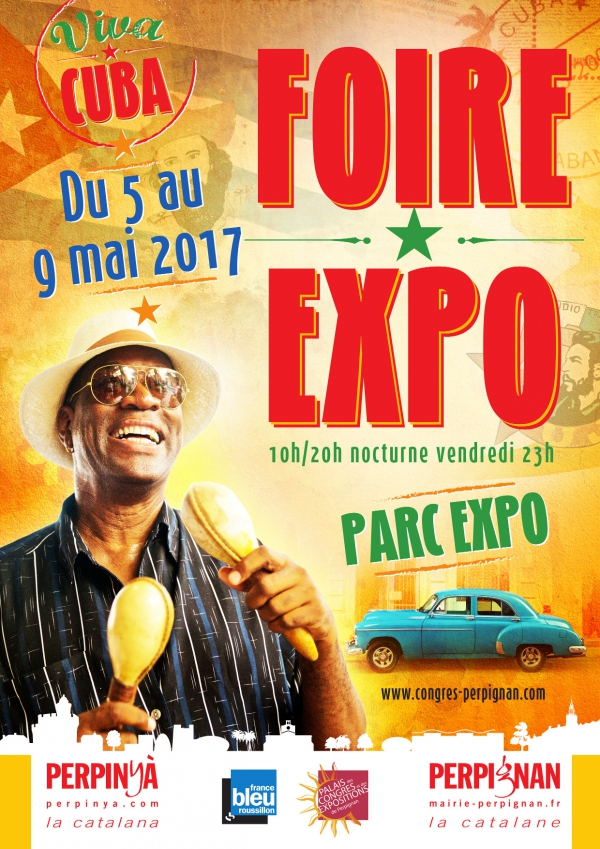 Foire exposition perpignan 2017 du 05 05 au 09 05 2017 for Nocturne foire expo