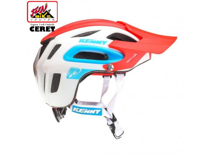Casque S3 white / red