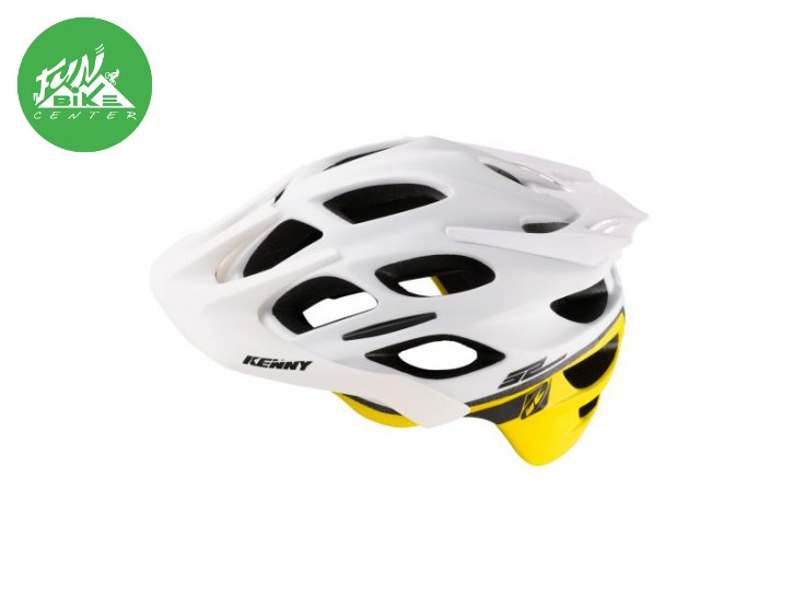 Casque enduro S2 White Neon Yellow