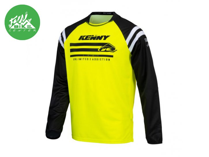 Maillot Track Raw Neon Yellow