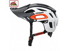 Casque S3 white / orange