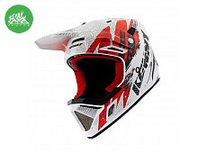 Casque DECADE Trash White Red