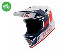 Casque DECADE Smach White Navy Red