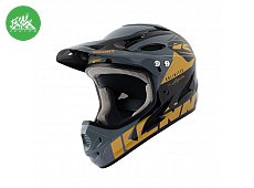 Casque Downhill Black Gold