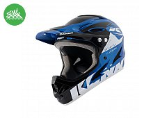 Casque Downhill Blue Black