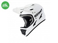 Casque Downhill Solid White